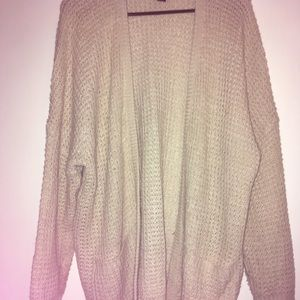 A Cream colored Cardigan from Rue 21